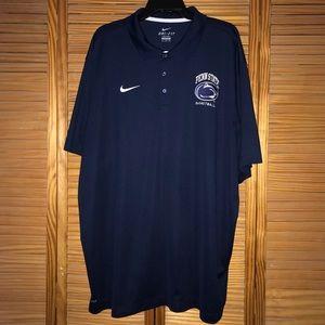 Nike Penn State Basketball Polo Shirt